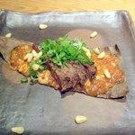 ころころ亭 - サーロインステーキ(朴葉味噌)