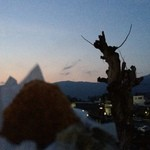 26202189 - <2014>直ぐに食べる用 あつあつの富士山コロッケ!(左手前)