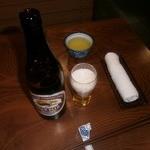 ひさ - ビール(中:580円)