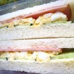 レジェーロ - サンドイッチ¥120