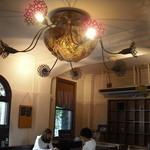 里山カフェ - アートな照明