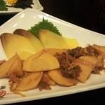 26205186 - 竹の子の煮物