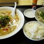 ほんこん中華料理 - 担担麺セット