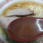 26207670 - 鶏がら醤油スープ。