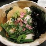 櫻川 - フグの白子ご飯がウマウマ♪