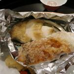 櫻川 - 鮑と鯛の酒蒸し