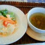 カフェピボディ - スープ&サラダ