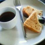 2621658 - シフォンケーキ&アメリカンコーヒー