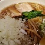 禪 - 煮干しそば+玉ねぎ増し 2014.4