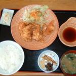 長者原ヘルスセンター - 料理写真:鶏天定食 2007年5月