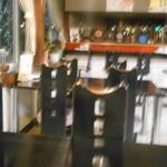 喜乃字 - テーブル席越のカウンター