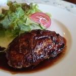 コックさん - ハンバーグステーキ ¥950