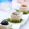 島豆腐と沖縄珍味三種盛り
