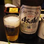 26214766 - 瓶ビールはアサヒスーパードライ