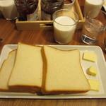 セントル ザ・ベーカリー - 食パン3種類 ジャム+バターセット