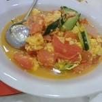 丸八 - ドマト卵とじ