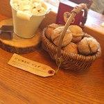 クルミドコーヒー - 備え付けの クルミ 角砂糖