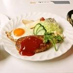 パピヨン - ハンバーグ定食 800円