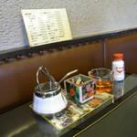 喫茶 新潟 - マッチ箱が組み立てられてマッチ箱に!?