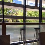 ザ・コンランショップカフェ - 新緑の美しい眺め(* ˘͈ ᵕ ˘͈ *)✾