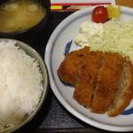 串かつでんがな - メンチカツ定食:699円
