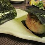 寿ぶき - 焼きおにぎり(醤油味)