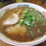 麺篤屋 - 黒正油とんこつらーめん630円。