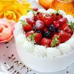 ベビーフェイスプラネッツ - バースデープランのケーキ