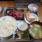 炉ばた焼き 酒肆 大関 - 中落ち定食 900円