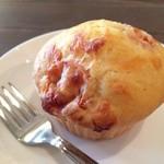 クロカフェ - ベジ・マフィン。野菜を使ったマフィンが定番。季節ごとに少しずつ変わる。