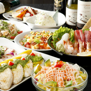 金魚の思い出コース◆美食6品+2時間飲み放題付◆3000円