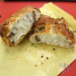 ベーカリー 南 - 「ゴルゴンゾーラ&くるみ」のパンです。280円