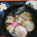 食道かわむら - 海老ワンタン麺