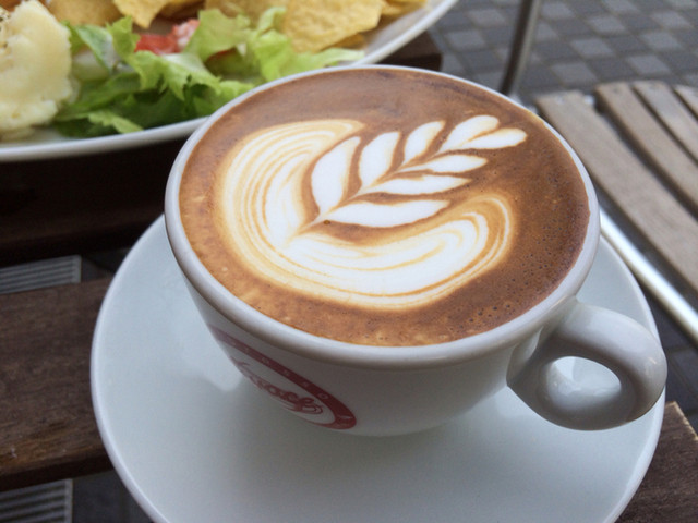 CAFE Elliott Avenue - カフェラテ