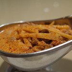タラ - ランチで食べました。 かなり辛いですが、めちゃくちゃ美味いです。