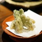 福笑 - たらの芽の天ぷら