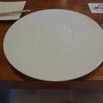 26228291 - 2014.4この皿が置かれると。。。