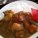 レストラン あゆみ - ミニカレー。