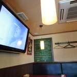 バル デ エスパーニャ セロ - サッカ観戦に欠かせない、大型TV