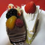 フリアンドール - フリアンドールのケーキ レトロなおいしさ。