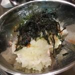 黒門豚美人 - 韓国式おにぎり