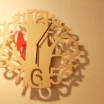 欧風カレー ソレイユ - 時計