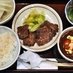 唐兵衛 - ハーフ&ハーフ定食¥1240