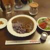 ナチュラル - 料理写真:ナチュラル玄米カレー ミニサラダ付 1100円