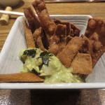 かな井 - 蕎麦屋のサラダ