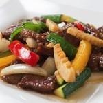 豪華楼 - 料理写真:和牛の炒め