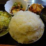 焼肉一番館 - 料理写真:Sランチ(焼肉ロース カルビ) 1