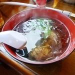 いさりび食堂 - イワシのつみれ汁2014/04