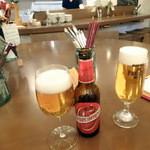 26236836 - スペインビールと生ビール