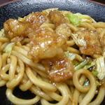 杉本食堂 - ホルモン焼きうどん